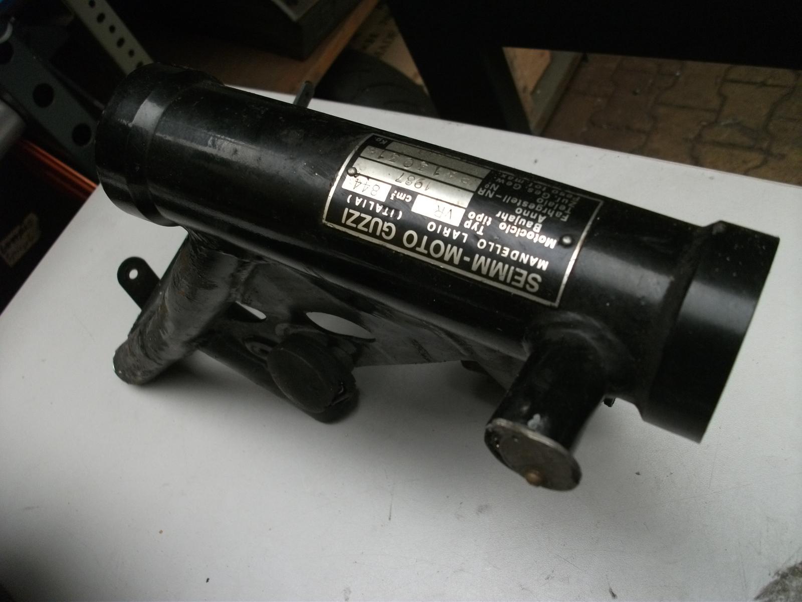 Moto Guzzi 850 T 5 Rahmenkopf mit Brief - Nr. 3031 B